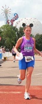 2005 Walt Disney World Triathlon: The race that got Gail hooked on running Disney.
