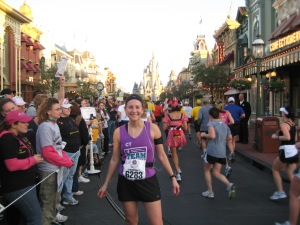 Kimberly, Main Street, USA 2009 WDW Marathon