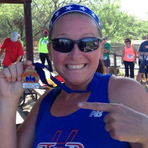 Did I tell you I placed 2nd in my age group.  Hey - did I tell you I PLACED 2nd IN MY AGE GROUP? Did I, did I?