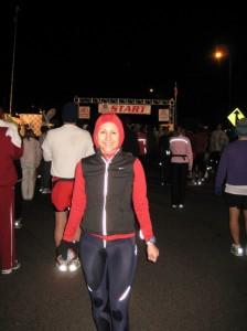 Before the 2010 WDW Marathon