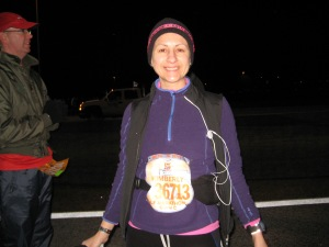 Before the 2010 WDW Half and I did see snow