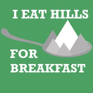 Or, in the case of the Runner's World Heartbreak Hill Hat Trick, they eat us - 2 days in a row!