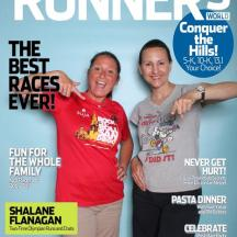 Our first Runner's World Cover...we're kinda a big deal (at least in our own minds...)!