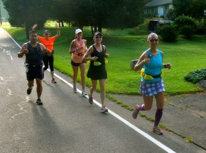 Running with Hartford Marathon Training group