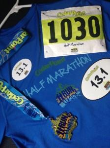 Half Marathon schwag!