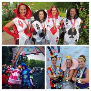 runDisney media trifecta - Twitter for Disneyland 5K, race video for Disneyland 10K, and race album on Facebook for Disneyland Half Marathon.  Mission accomplished!