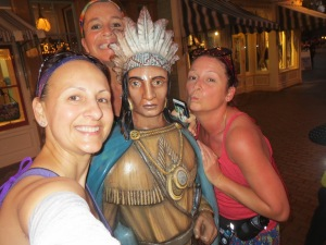 One of many #WoodenIndianSelfies of 2014