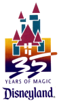 Disneyland 35th Anniversary Logo
